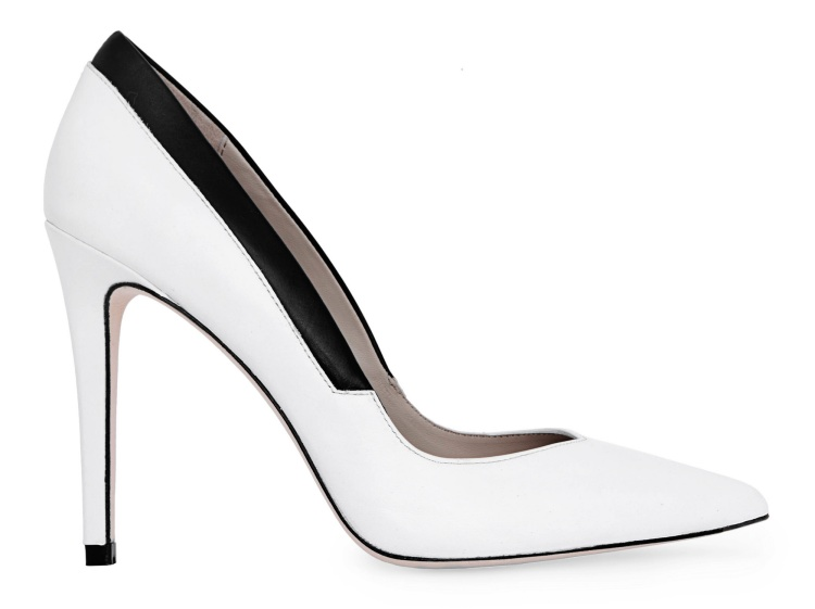 elie tahari alica white black