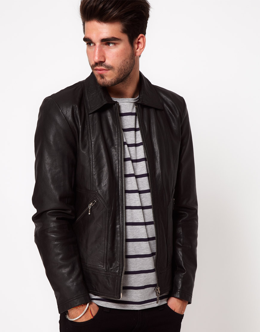 10 Hot Leather Biker Jackets For Men The Fashion Supernova