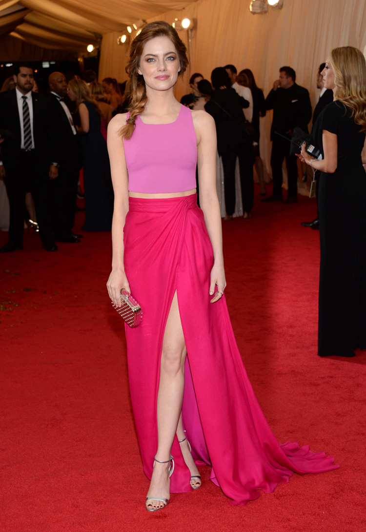 Top 2014 Fall 2015 Winter Fashion Trends: MET Ball Gala 2014 - What The Celebs Wore