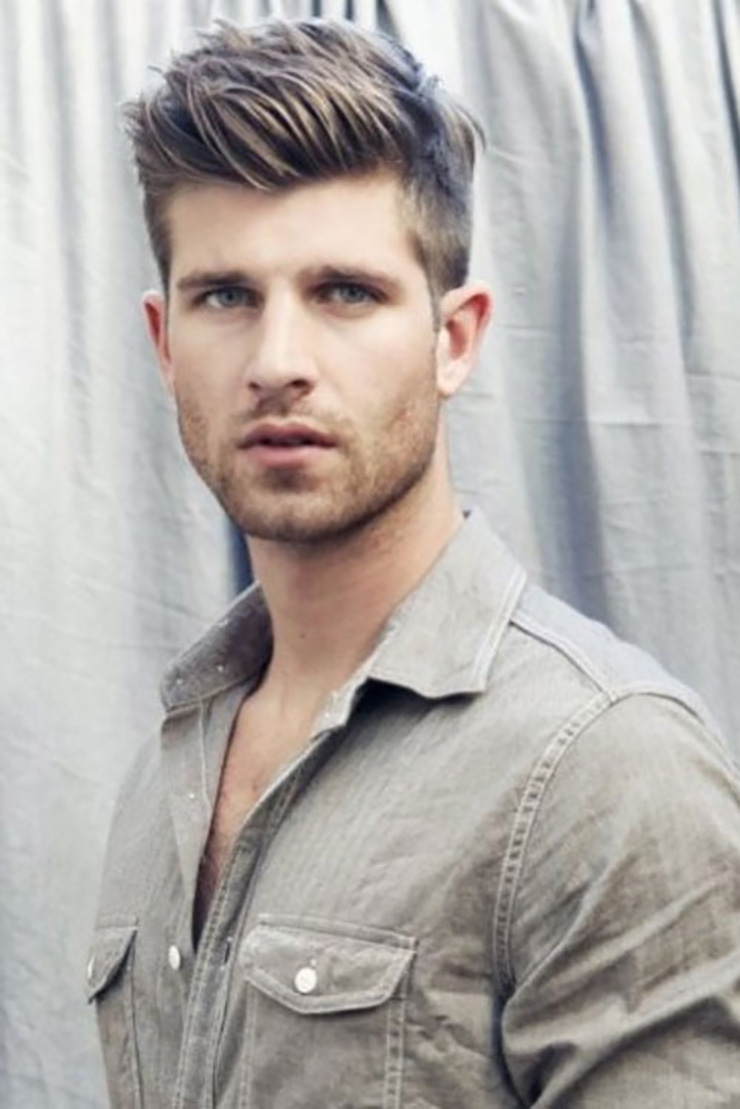 Terrific 5 Cool Men39S Hairstyles For Summer 2014 The Fashion Supernova Short Hairstyles Gunalazisus
