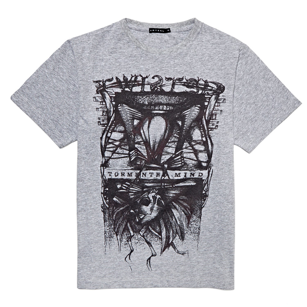 Artekl-Tormented-Mind-Printed-T-shirt
