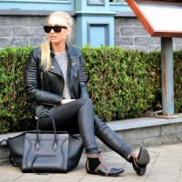 10 Hot Leather Biker Jackets For Autumn & Styling Options