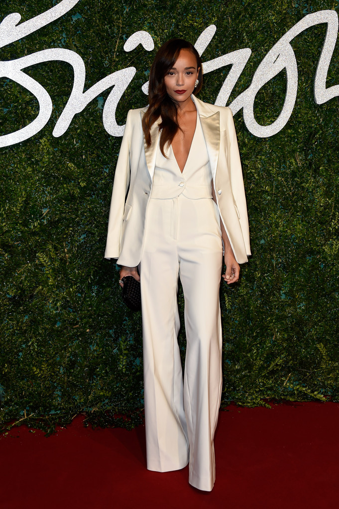 ashley-madekwe-british-fashion-awards-banana-republic