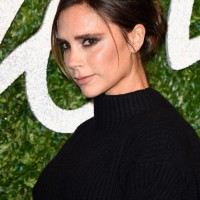 Victoria Beckham in a Victoria Beckham Creation