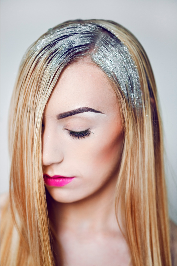 glitter-hair-hairstyle-silver