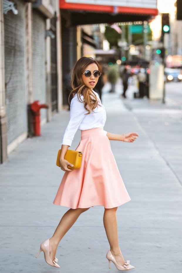 a-line-high-waist-skirt