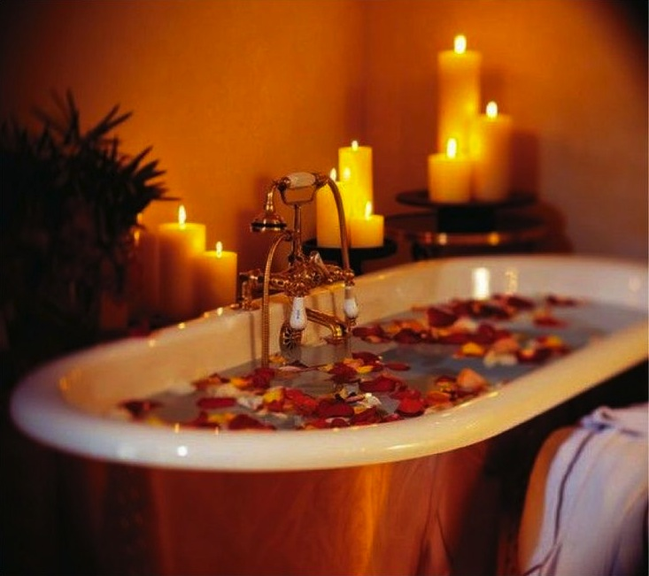 bath relax candles