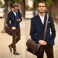 Canvas Bags and Backpacks – The New Casual-Smart for Men