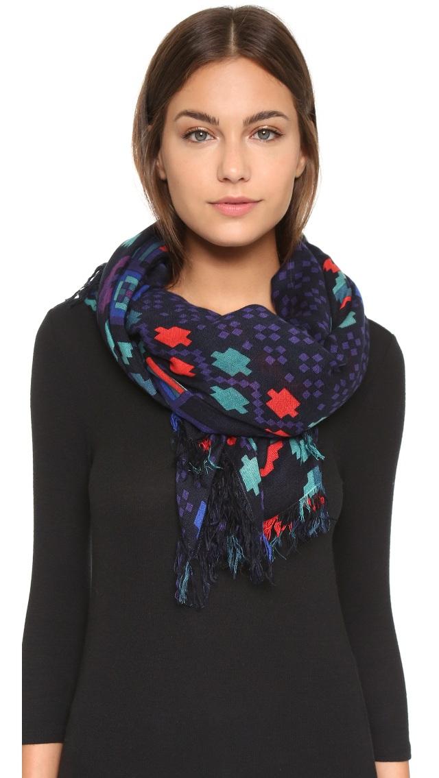 scarf printed