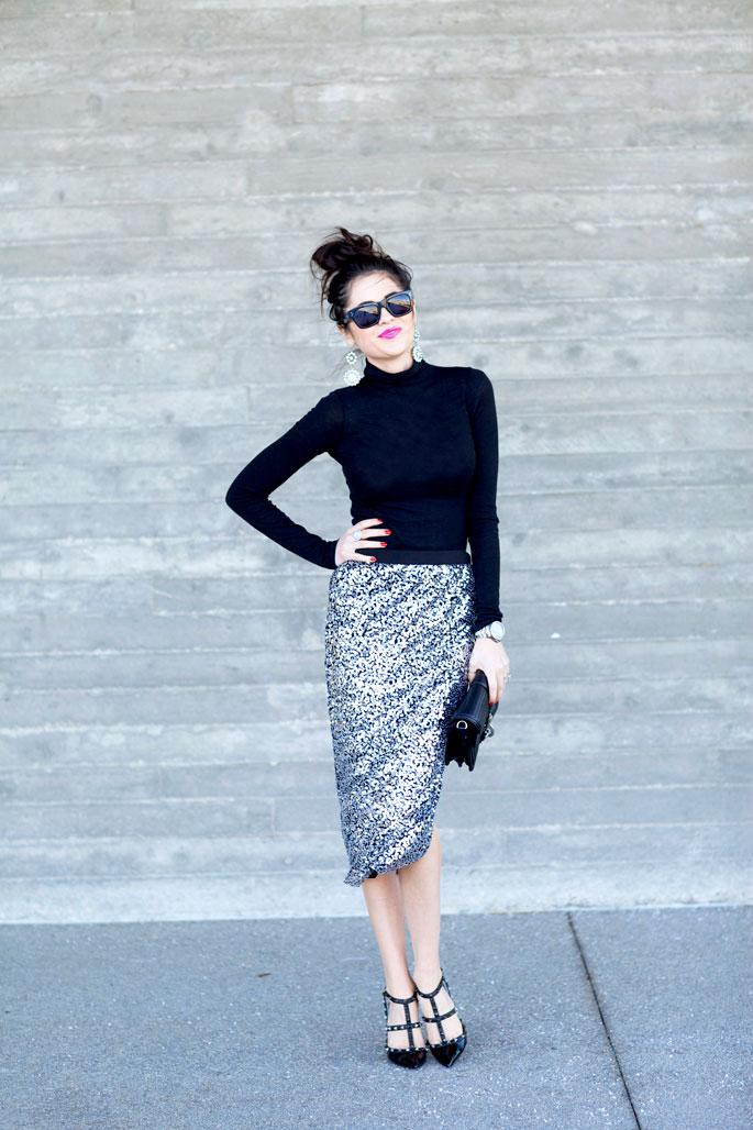 silver-sequin-skirt