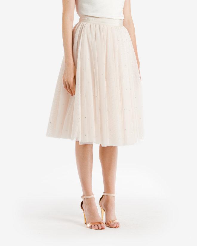 ted baker ODELLA Embellished tutu skirt
