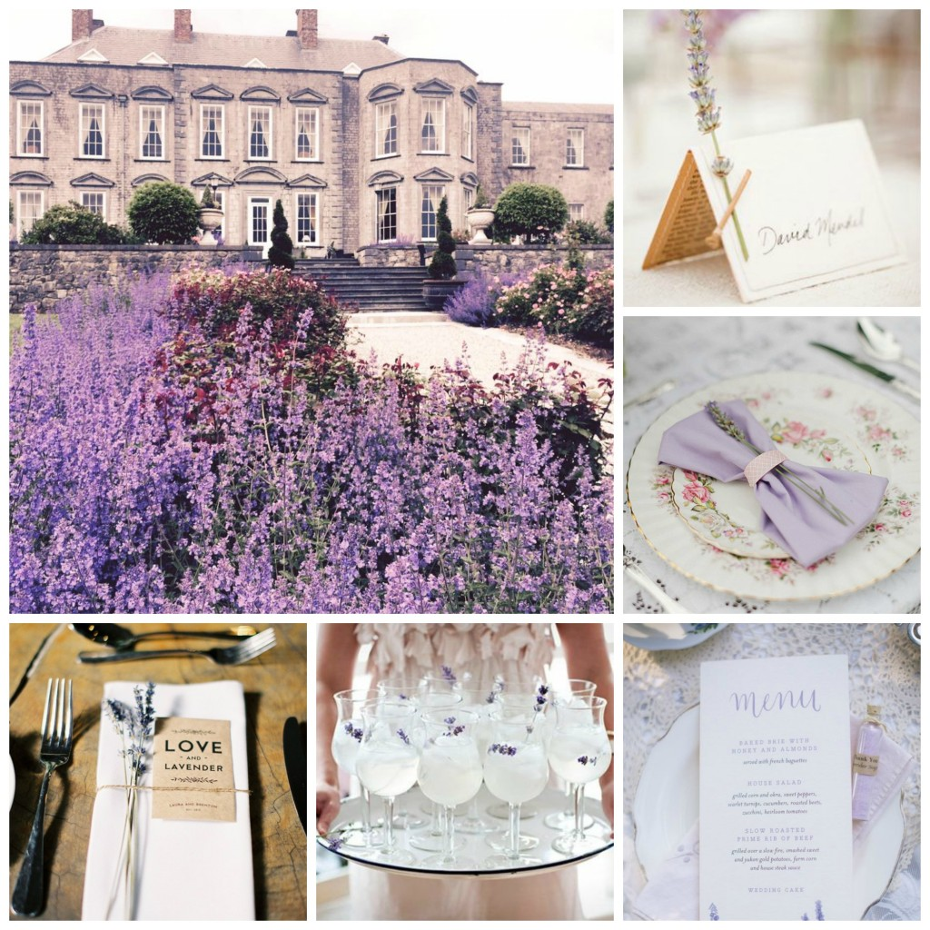Lavender Wedding Palette