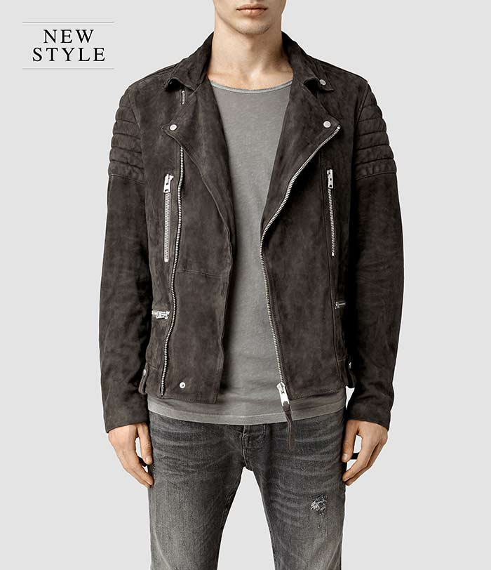 all-saints-Circuit-Suede-Biker-Jacket