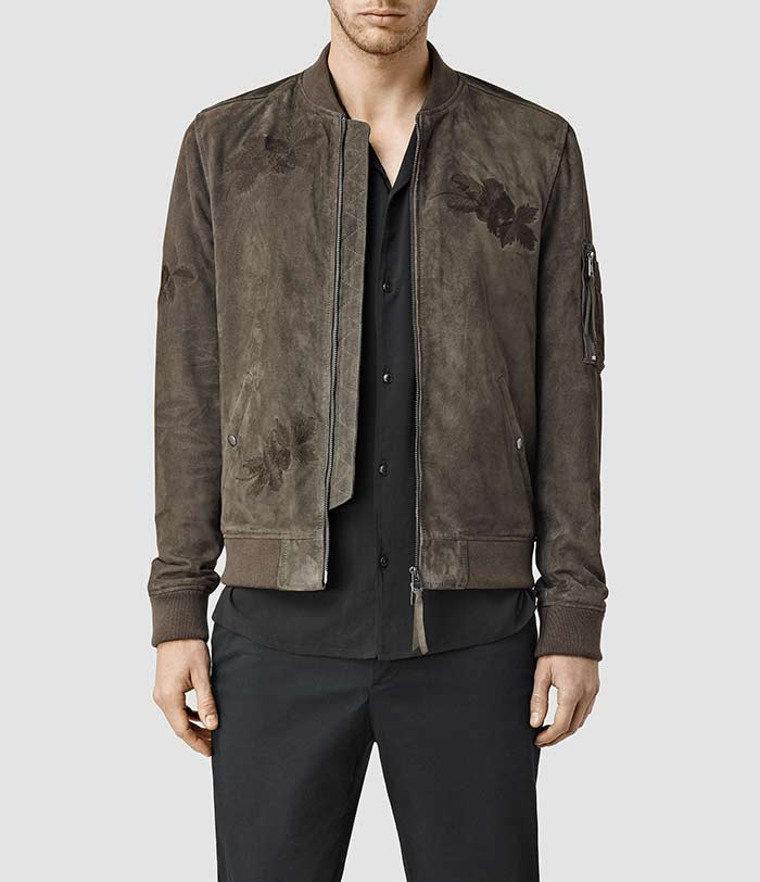 all-saints-Murdock-Suede-Bomber