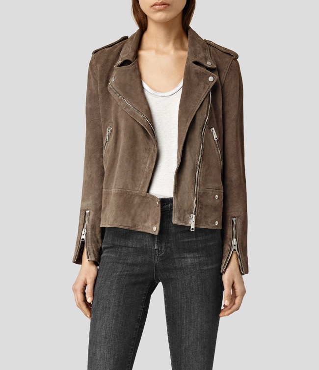 all saints holme suede biker jacket