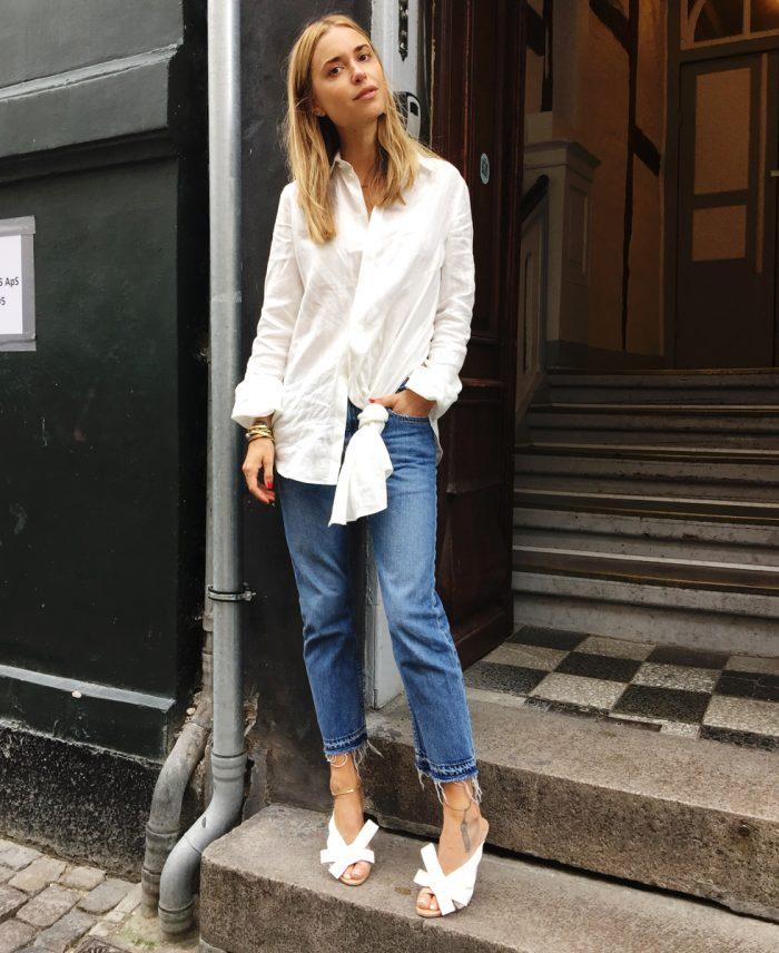 5 Ways To Wear Girlfriend Jeans | The Fashion Supernova