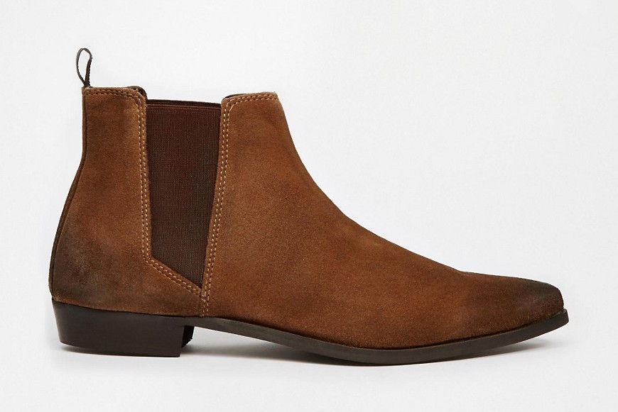 asos pointed chelsea boots