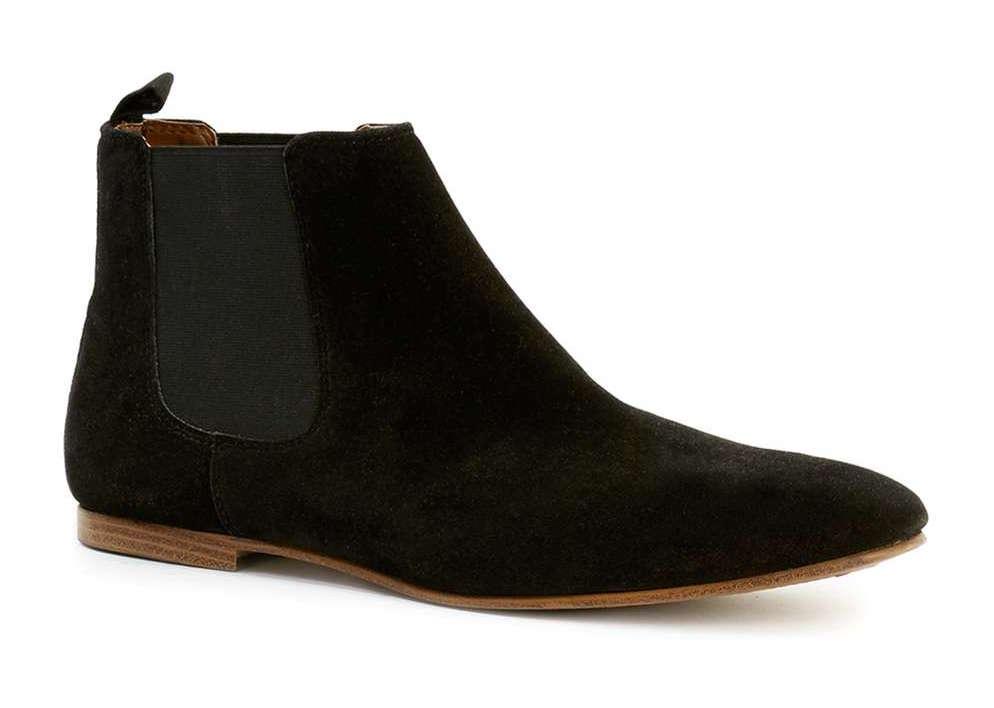 topman chelsea boots black