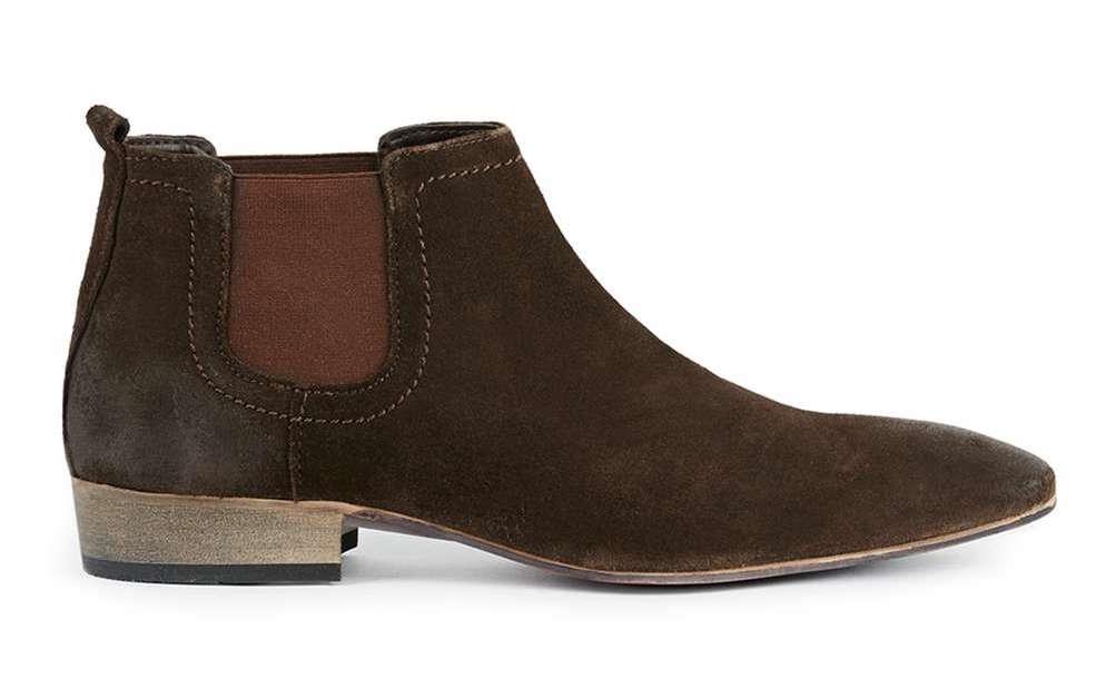 topman chelsea boots brown